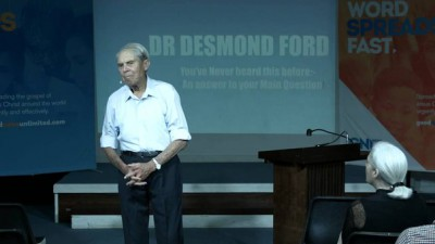Интервью Дезмонда Форда