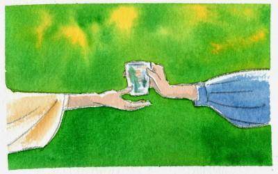 Тяжелые стаканы