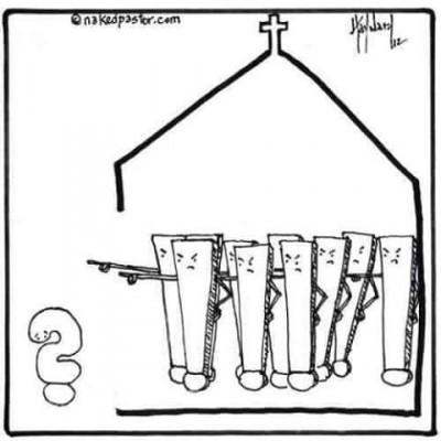 Вопрос в церкви