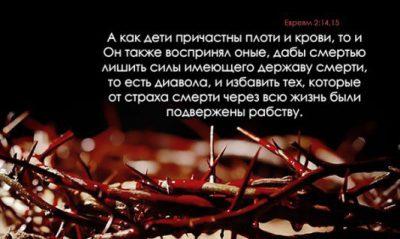 Александр Степанов. Дабы лишить силы имеющего державу смерти