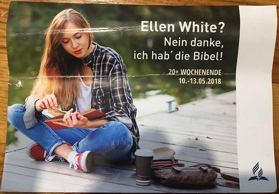 ЕЛЕНА УАЙТ? Нет, спасибо, у меня есть Библия!