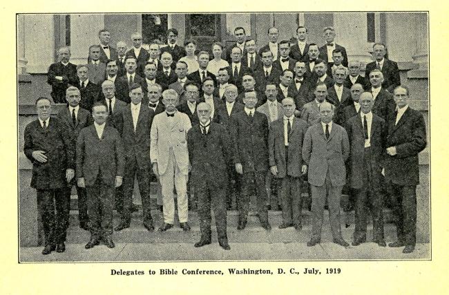 ПОЧЕМУ КОНФЕРЕНЦИЯ 1919 ГОДА БЫЛА ТАК ВАЖНА
